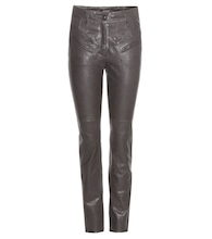Brodie leather trousers