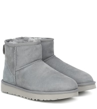 Classic Mini II suede ankle boots
