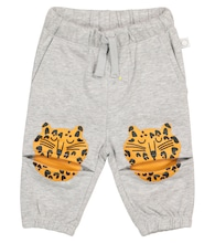 Baby cotton trackpants