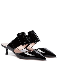 Viv' In The City patent leather mules