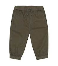 Baby cotton twill cargo pants
