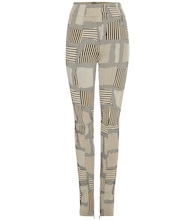 Uraina metallic trousers