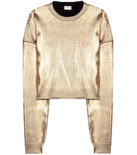 Metallic sweatshirt