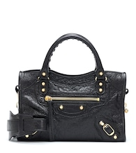 Classic City Mini leather tote