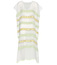 Addis striped cotton kaftan