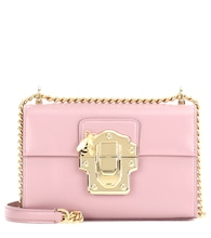 Lucia Small leather shoulder bag