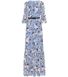 17e7b5707605 Senna silk crêpe de chine gown. NEW ARRIVAL; NEWSEASON