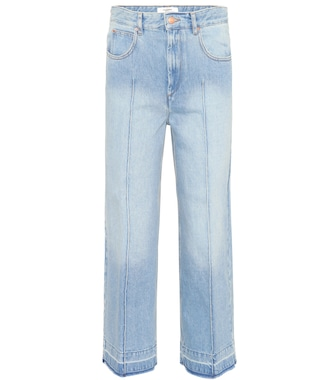 Isabel Marant, Étoile - Cabrio cropped jeans - mytheresa.com
