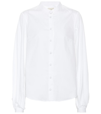 Khaite - Willa cotton poplin shirt - mytheresa.com
