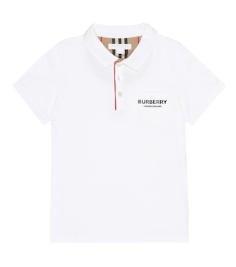 Burberry Kids - Printed cotton T-shirt - mytheresa.com