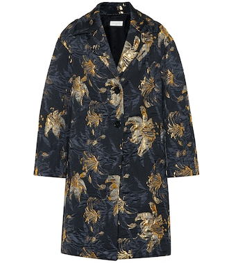 Dries Van Noten - Brocade coat - mytheresa.com