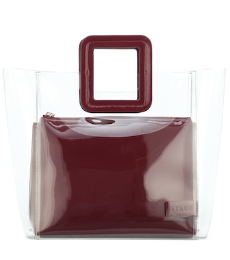 Staud - Shirley leather tote - mytheresa.com