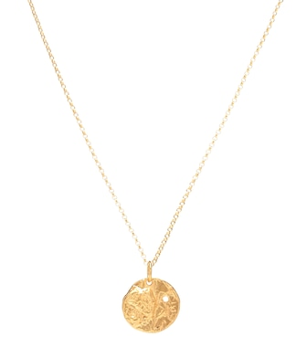 Alighieri - The Unspoken Trust 24kt gold-plated necklace - mytheresa.com