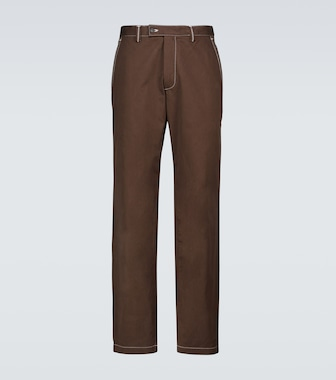 Phipps - Dad topstitched cotton pants - mytheresa.com