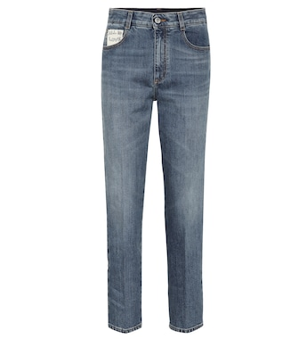 Stella McCartney - High-waisted straight jeans - mytheresa.com