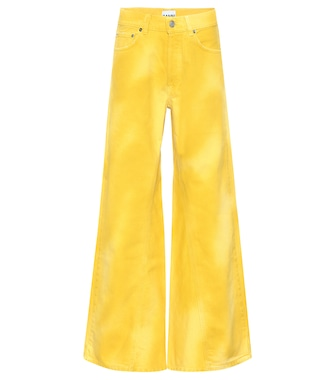 Ganni - High-waisted flared jeans - mytheresa.com