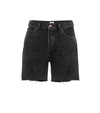 Citizens of Humanity - Shorts Bailey de jeans tiro alto - mytheresa.com