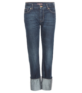 7 For All Mankind - Roll Up Straight jeans - mytheresa.com