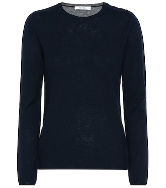 Max Mara - Berma silk and cashmere sweater - mytheresa.com