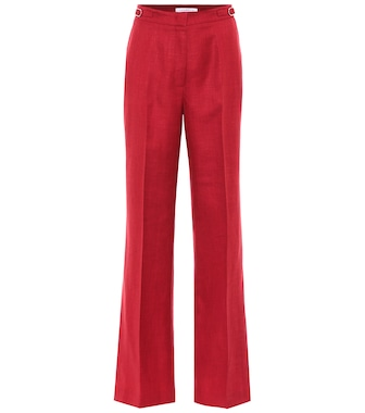 Gabriela Hearst - Exclusive to Mytheresa – Vesta high-rise wool-blend pants - mytheresa.com