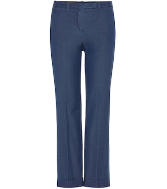 Loro Piana - Hayden cotton trousers - mytheresa.com