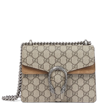 Gucci - Dionysus GG Supreme Mini shoulder bag - mytheresa.com