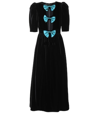 Gucci - Velvet dress - mytheresa.com