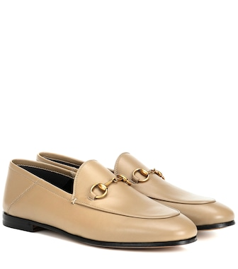 Gucci - Jordaan leather loafers - mytheresa.com