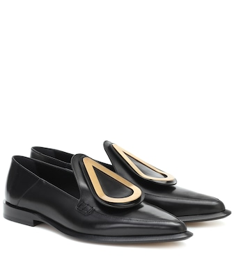 Loewe - Drop leather loafers - mytheresa.com