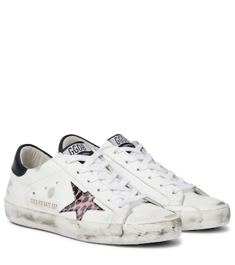 Golden Goose - Exclusive to Mytheresa – Superstar leather sneakers - mytheresa.com
