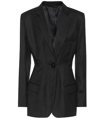 The Attico - Virgin wool blazer - mytheresa.com
