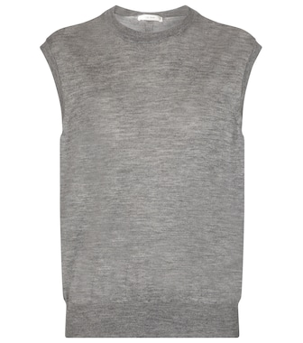 The Row - Balham cashmere sweater vest - mytheresa.com