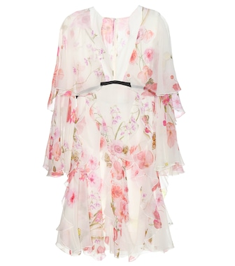 Giambattista Valli - Printed silk-chiffon dress - mytheresa.com