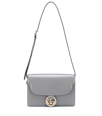 Gucci - GG Ring Small leather shoulder bag - mytheresa.com