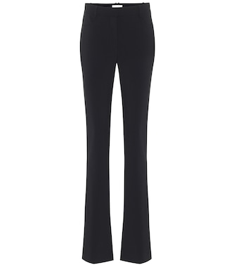 The Row - Payson high-rise flared slim pants - mytheresa.com
