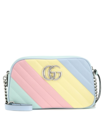 Gucci - GG Marmont Mini Camera shoulder bag - mytheresa.com