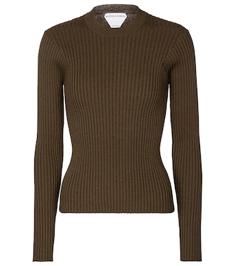 Bottega Veneta - Ribbed-knit sweater - mytheresa.com