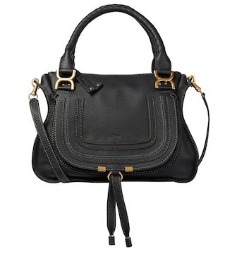 Chloé - Ledertasche Marcie Medium - mytheresa.com