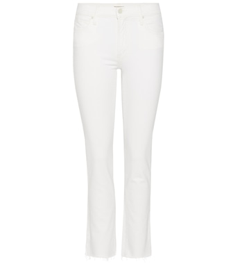 Mother - The Rascal Ankle Snippet slim straight cropped jeans - mytheresa.com