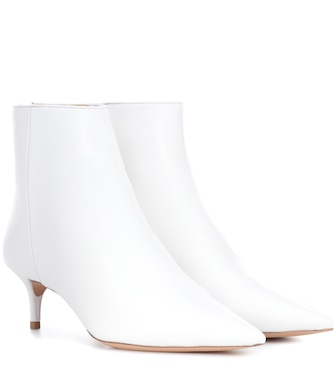 Alexandre Birman - Kittie leather ankle boots - mytheresa.com