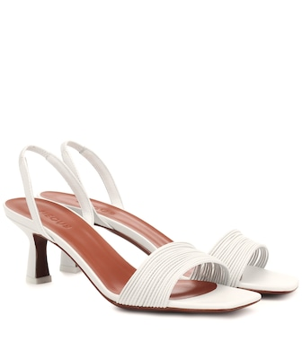 Neous - Rossi leather slingback sandals - mytheresa.com