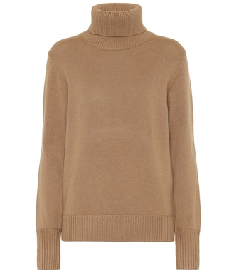 Burberry - Embroidered cashmere sweater - mytheresa.com