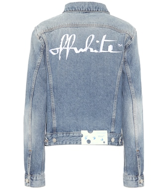 Off-White - Logo denim jacket - mytheresa.com