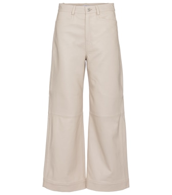 Proenza Schouler - White Label leather straight pants - mytheresa.com