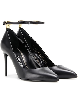 Tom Ford - Leather pumps - mytheresa.com