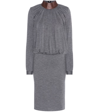 Tom Ford - Wool-blend dress - mytheresa.com