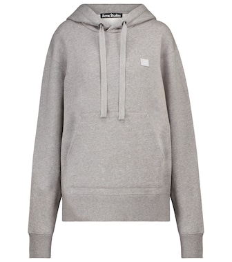 Acne Studios - Ferris Face oversized cotton hoodie - mytheresa.com