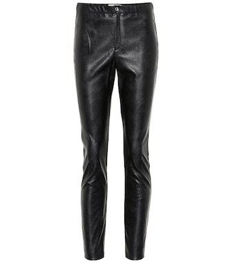 Isabel Marant, Étoile - Zeffery faux leather leggings - mytheresa.com