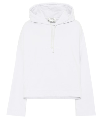 Acne Studios - Joghy embossed cotton hoodie - mytheresa.com