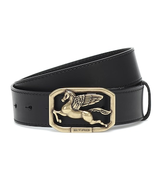ETRO - Pegaso leather belt - mytheresa.com